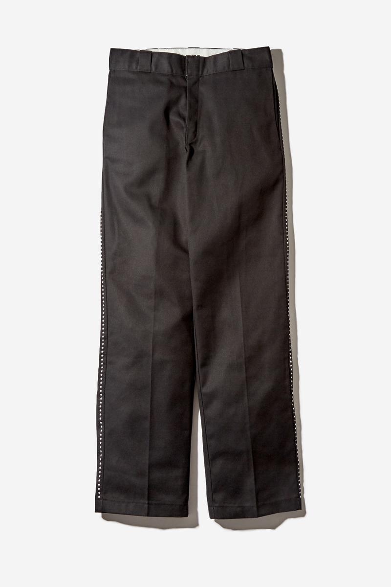 Goodhood Dickies 874 Pant Charcoal Grey Black Bright White Chocolate Brown London Stars Yellow