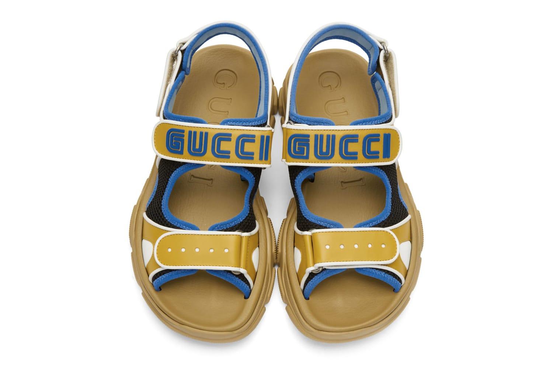 Blue Yellow Aguru Sandals Release
