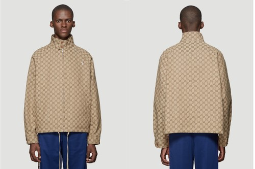"""Gucci Delivers New """"GG"""" Monogram-Covered Garments"""