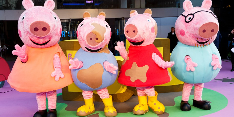 Hasbro Shells out $4 Billion USD in Cash to Acquire 'Peppa Pig' Studio Entertainment One