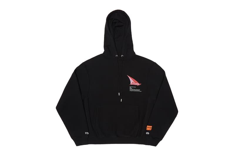 Heron Preston SSENSE Exclusive JUMP Capsule Release Jacket pants shorts bags t shirt long short