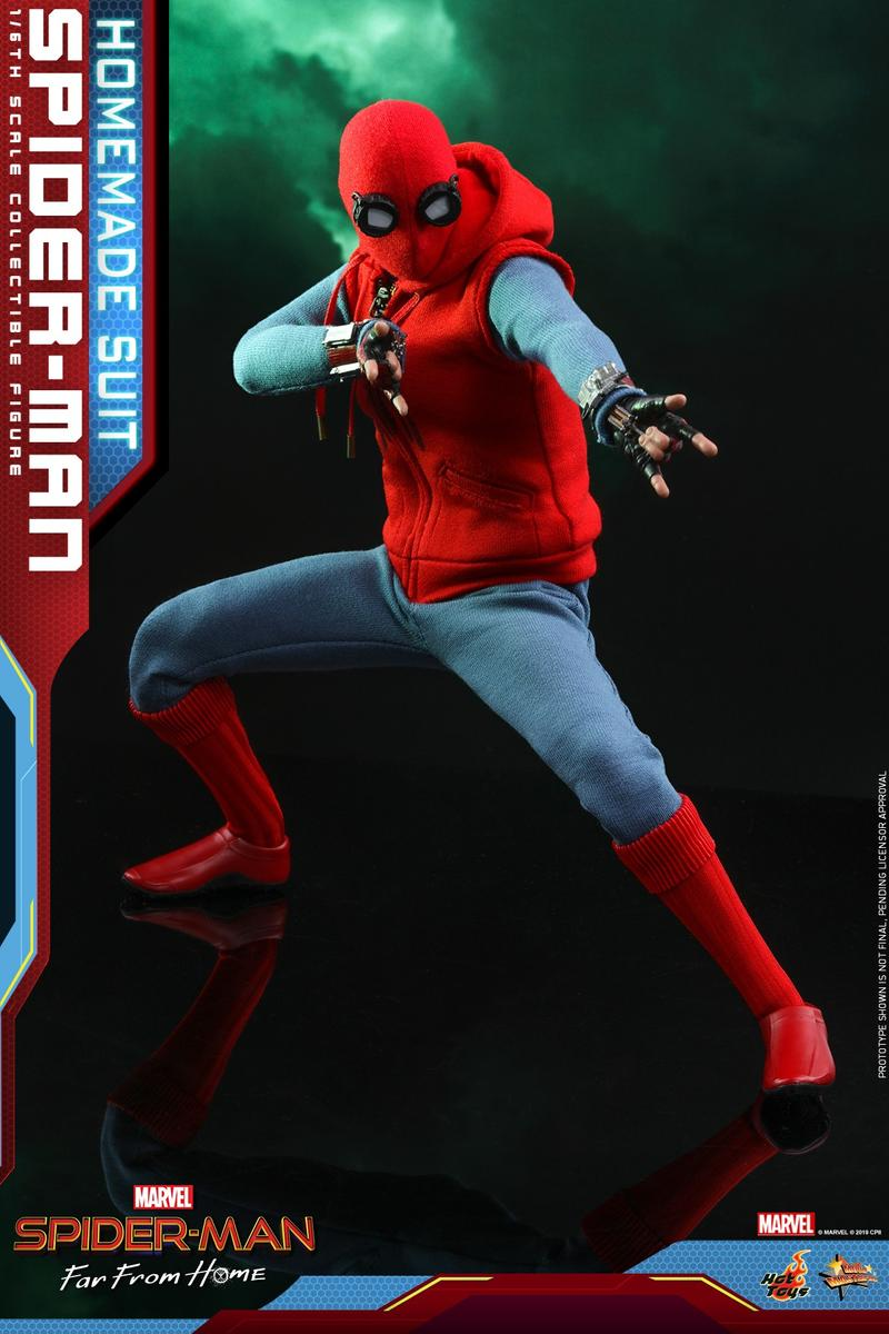 Hot Toys Homemade Suit Collectable 1/6th scale Spider-Man: Far From Home
