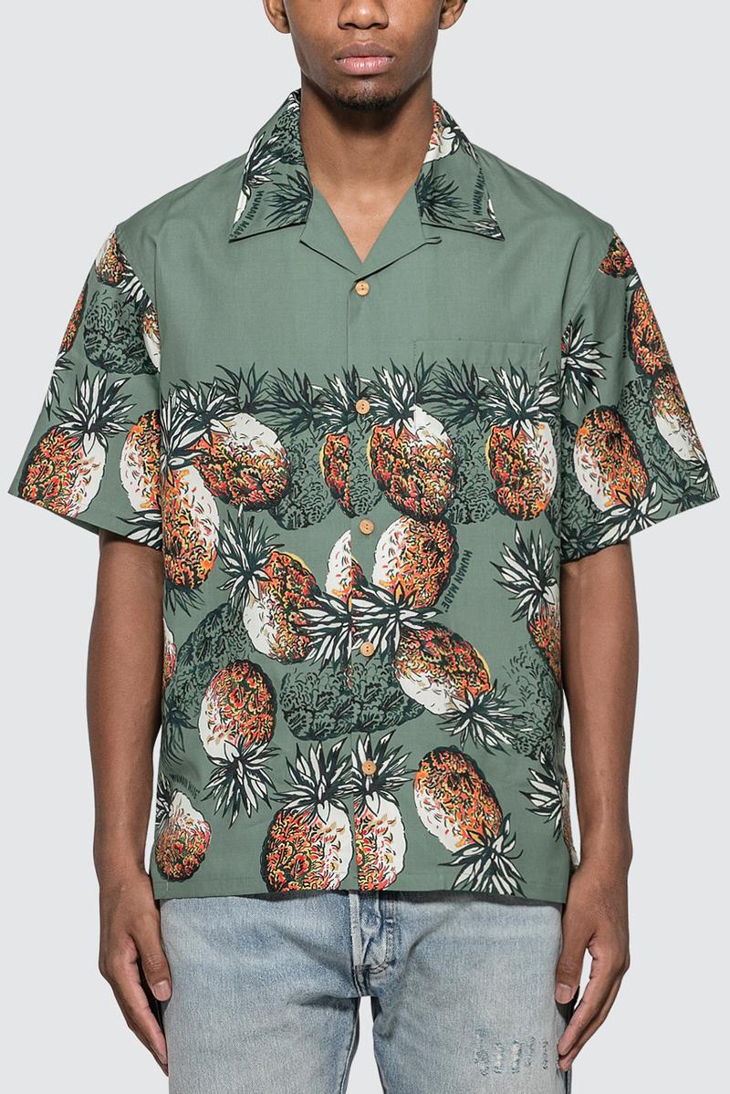 human made aloha collared shirts duck pineapple buttondowns button down summer 2019 nigo
