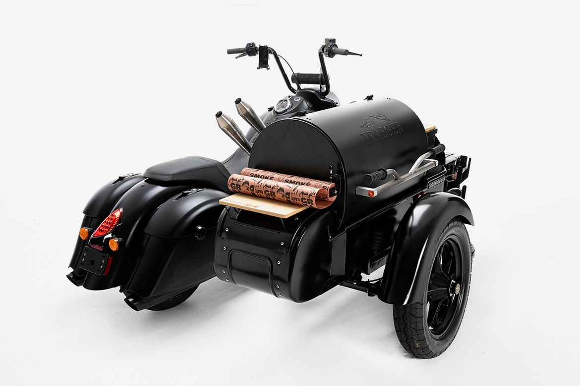 Indian Motorcycle Traeger Custom Motorcycle Wood Grill Info | HYPEBEAST