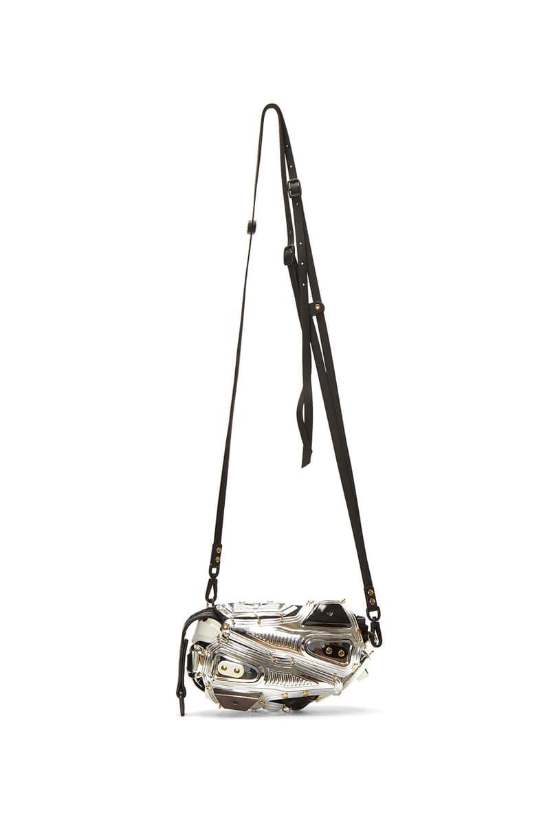 innerraum crossbody bag pochette bags armored silver grey release fall 2019 lncc kuboraum founders livio graziottin sergio eusebi