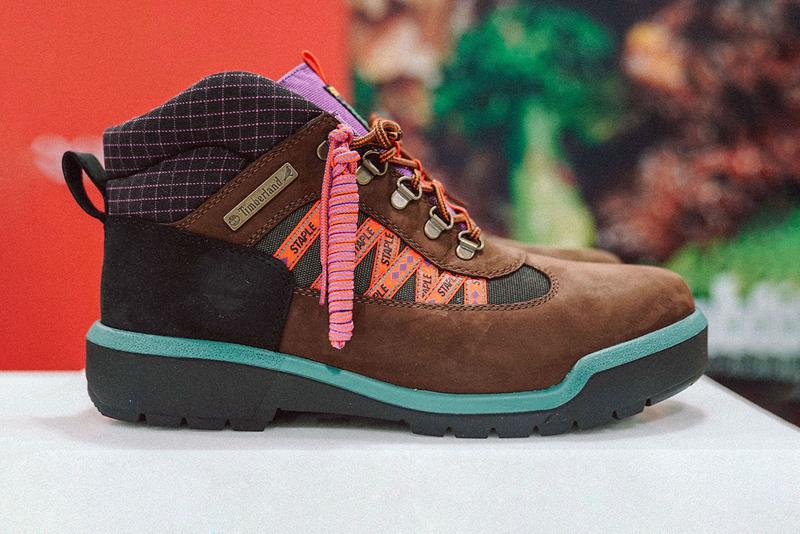 "jeffstaple Teases Staple x Timberland Field Boot ""Beef & Broccoli"" Collaboration"