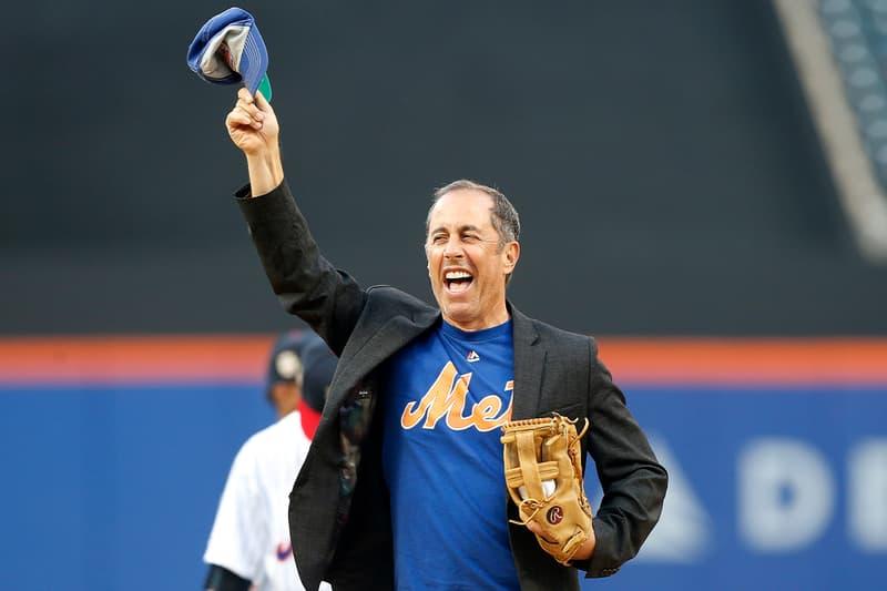 Jerry Seinfeld Reveals New York Mets Jerseys Nike Shox TL