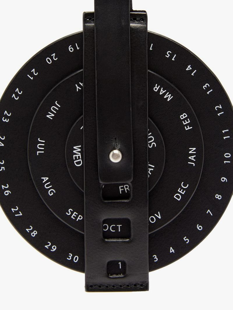 Jil Sander Calendar Leather Keychain Key Ring Runway Piece Fall Winter 2019 Accessories Luke Meier Lucie Meier Shop Now MATCHESFASHION.COM