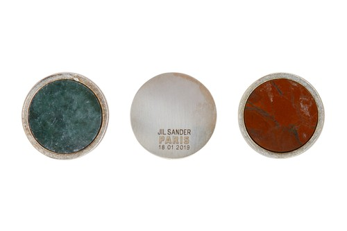 Jil Sander Releases a Series of Marble-Imbued Pins