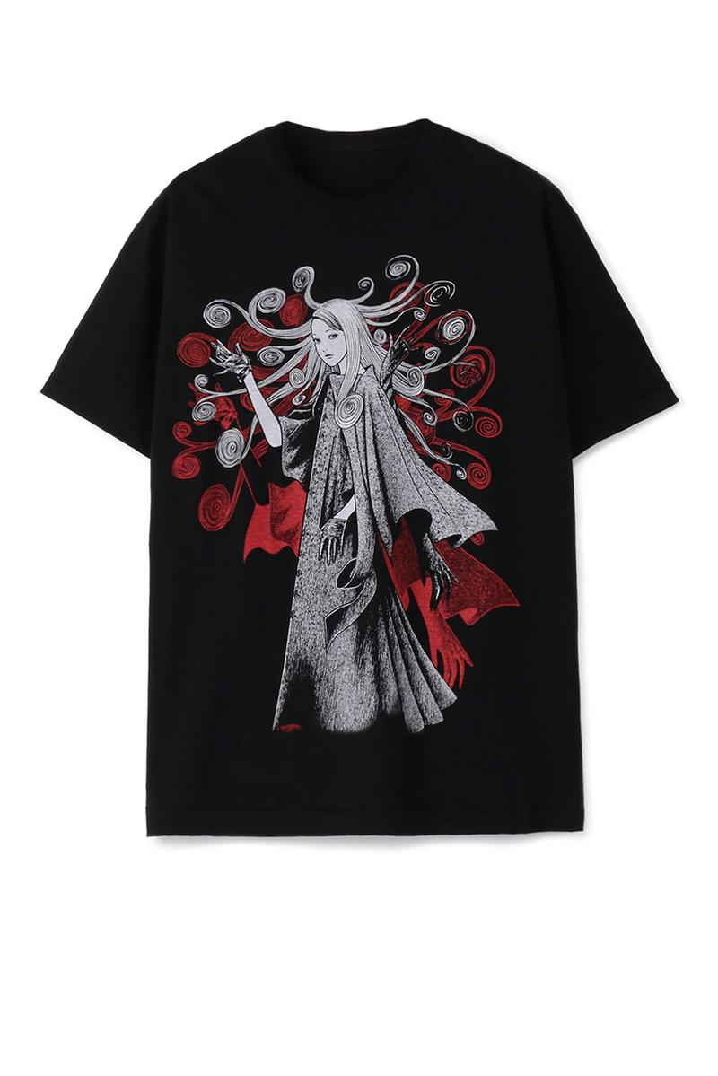 S'yte Yohji Yamamoto junji ito collaboration collection tee shirts bag release date drop info august 14 2019 buy japan the shop web store