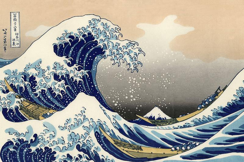 Katsushika Hokusai Movie Announcement Yuya Yanagaku Min Tanaka the great wave off kanagawa 2020 summer japan biography life story mount fuji