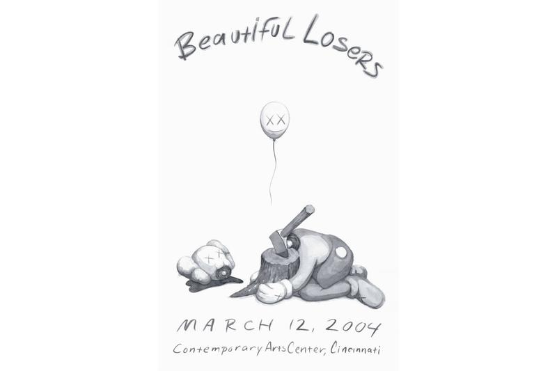kaws beautiful losers print release jonathan levine projects artworks