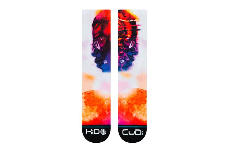 Kid Cudi Man on the Moon The End of Day Stance Socks Anniversary Capsule