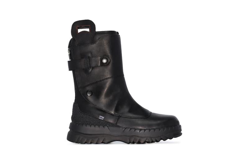 962757bd929 Kiko Kostadinov x CamperLab Black Leather Loafers & Boots