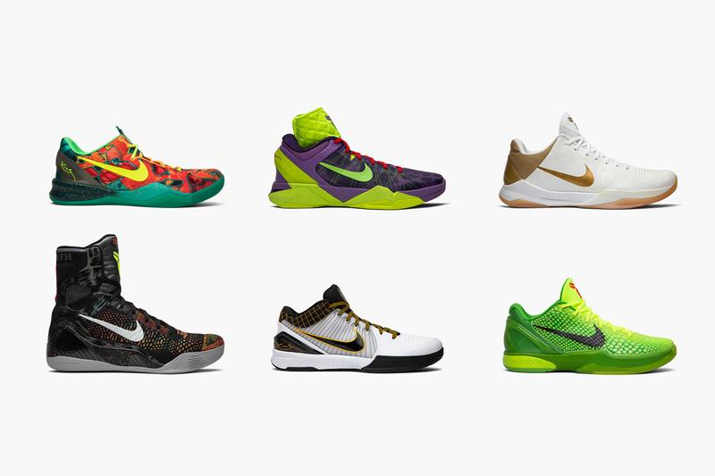 GOAT Recounts Kobe Bryant's Best Signature Shoes protro del sol 4 big stage home grinch 6 supreme 7 christmas what the kobe 8 system 9 elite masterpiece 11 elite low ftb