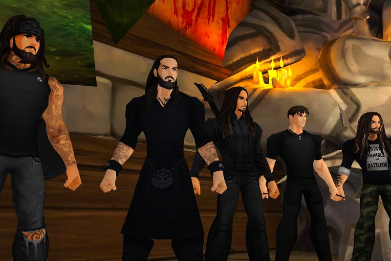 Korn to Play Virtual Concerts in Video Games adventurequest 3d aq worlds music rock & roll mosh pit artix 'The Nothing'