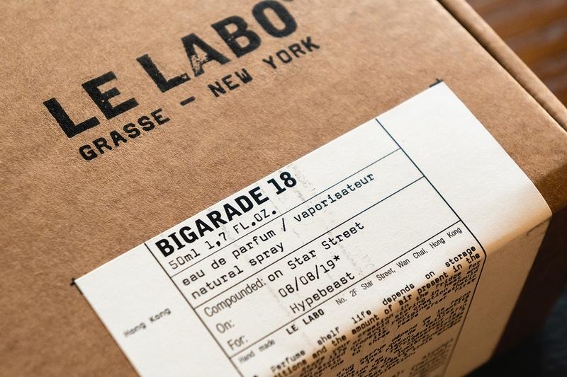 Le Labo BIGARADE 18 Releases in Hong Kong Eddie Roschi scents fragrances candles bergamot neroli