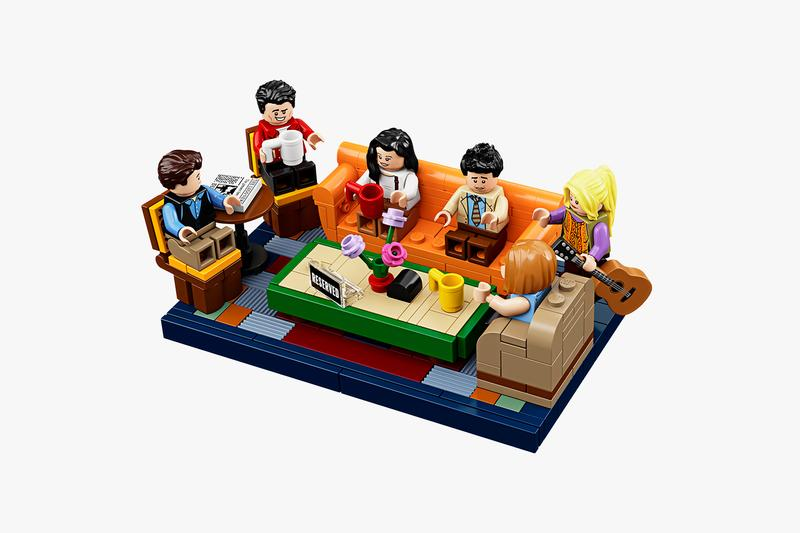 LEGO Friends Central Perk TV Set Release Info 90s television sitcom ross rachel chandler joe monica gunther toys replica collectibles
