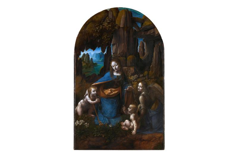 leonardo da vinci virgin of the rocks national gallery london exhibitions artworks old masters renaissance paintings classical