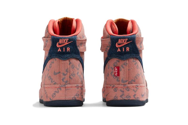 """""""Levi's by Nike"""" Air Force 1 Pack, Customization air max 90 drop release date website august 19 26 2019 available indigo sherpa leather trim fabric corduroy"""