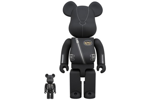 Lewis Leathers & BE@RBRICK Team Up for Leather-Clad Figure
