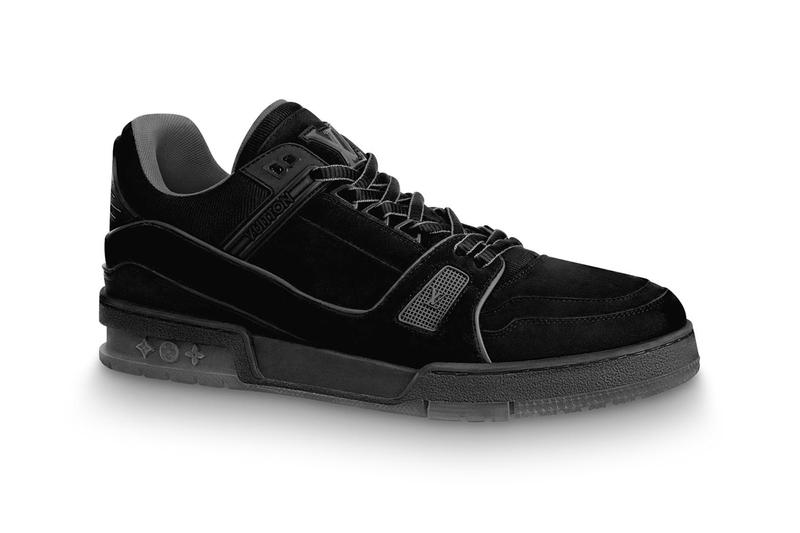Louis Vuitton Drops Two Versions of LV 408 Sneakers rouge noir suede flannel calf leather low-top virgil abloh fall/winter 2019 buy now price release info