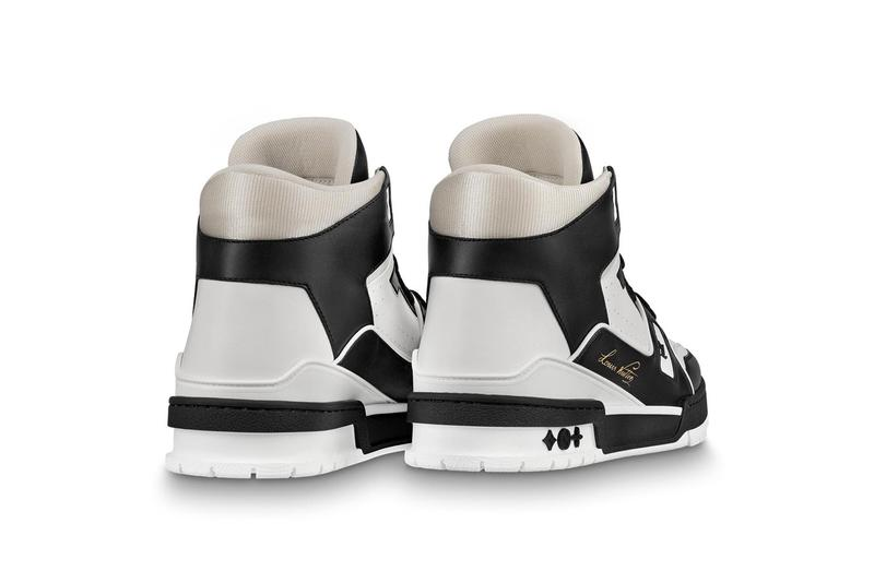 Louis Vuitton LV 408 Trainer in Black and White