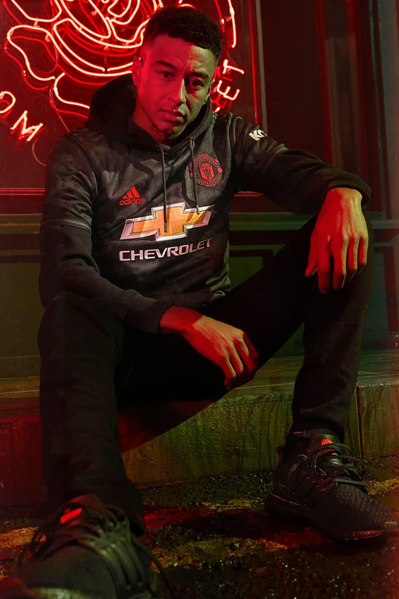 adidas Football Manchester United Reveal Third Kit 2019/2020 Season Rose Floral Premier League