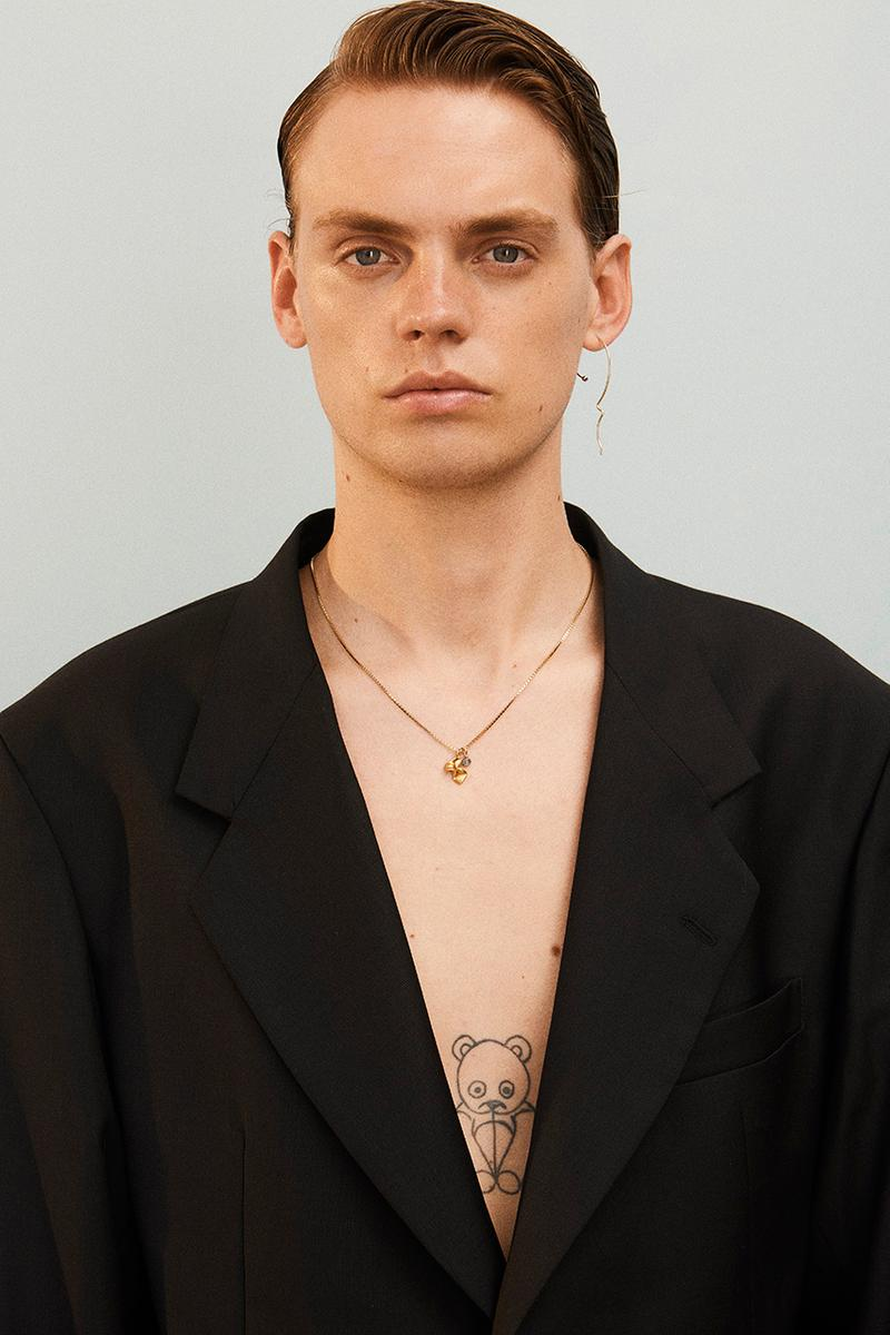 Martin Asbjørn Spring Summer 2020 SS20 Lookbook Collection Gallery Riviera Backdrop Menswear Clothing Tailoring Suits Relaxed Deconstructed Shorts Shirts Coats Bags