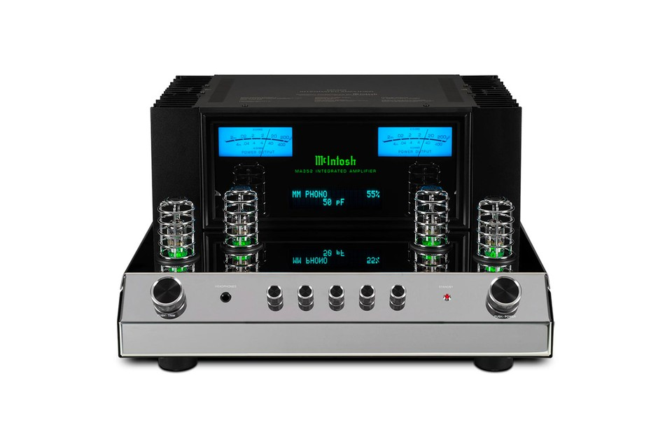 McIntosh's MA352 Integrated Amplifier Blends Eye-Catching Design With Hi-Fi Audio