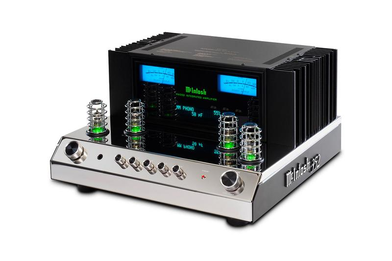 McIntosh Labs Releases MA352 Integrated Amplifier audio equipment design vacuum tube solid state design buy now hybrid 200 Watts into 8 Ohms 320 Watts into 4 Ohms 5-band tone control