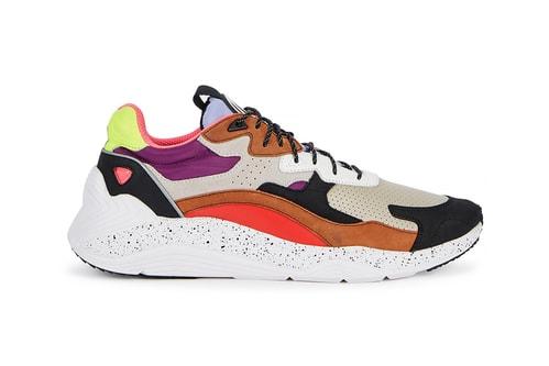 McQ Alexander McQueen Launches Vivid Colorblocked Daku Sneakers