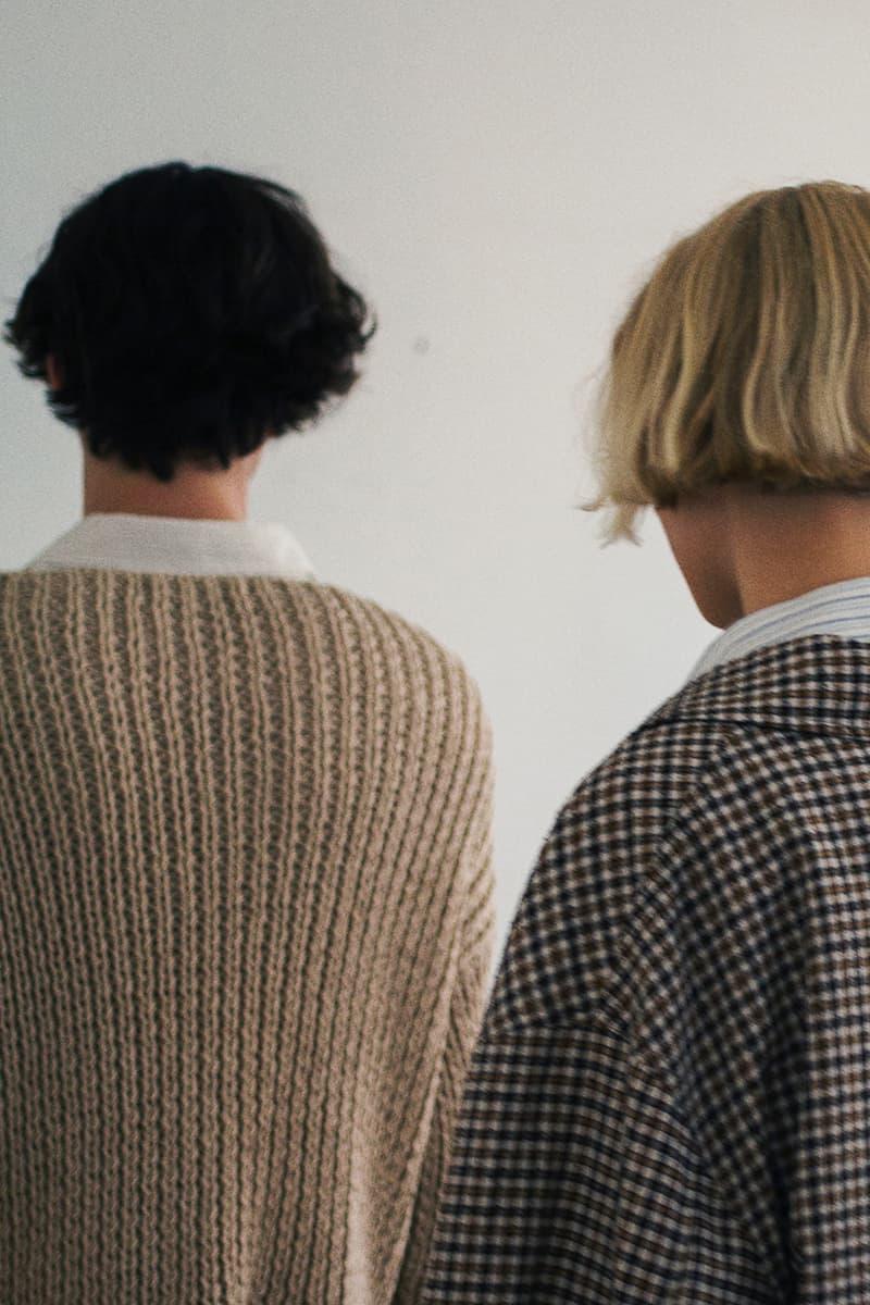 mfpen Spring Summer 2020 SS20 Runway Copenhagen Fashion Week Collection Images Report Winter Spring Transition Scandinavia Knitwear Coats Shirts Tailoring