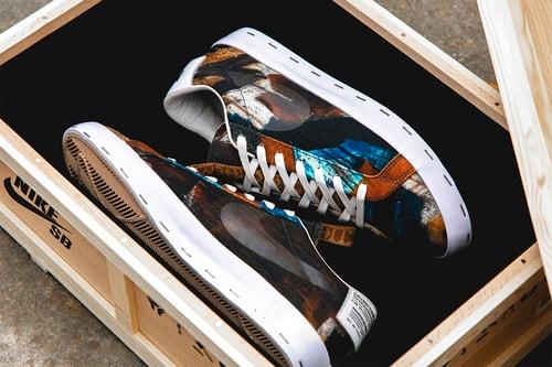 "A Closer Look at the Michael Lau x Nike SB Blazer Low ""Salvator Michael"""