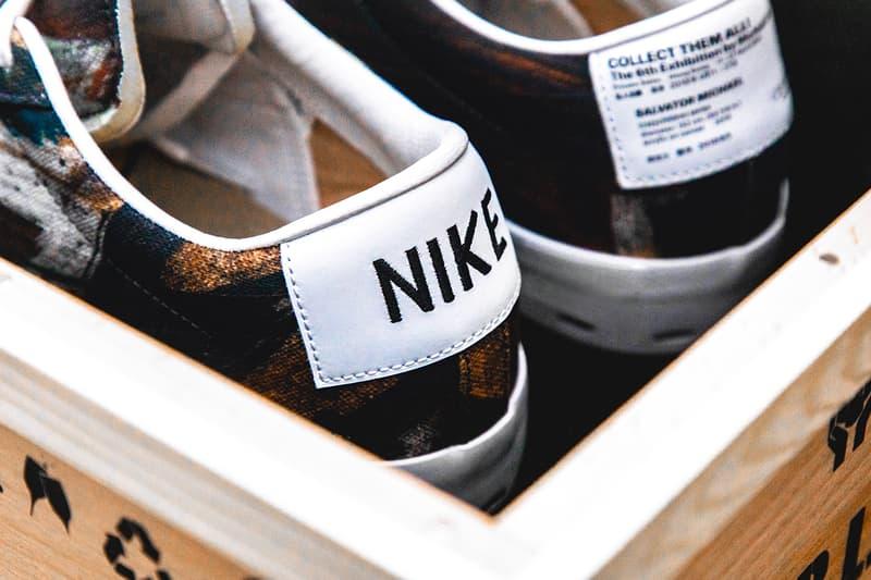 "Michael Lau x Nike SB Blazer Low ""Salvator Michael"" closer look nike collaborations"