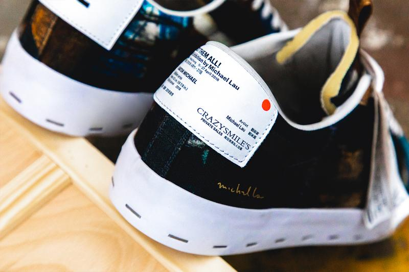 "Michael Lau x Nike SB Blazer Low ""Salvator Michael"" closer look nike collaborations"