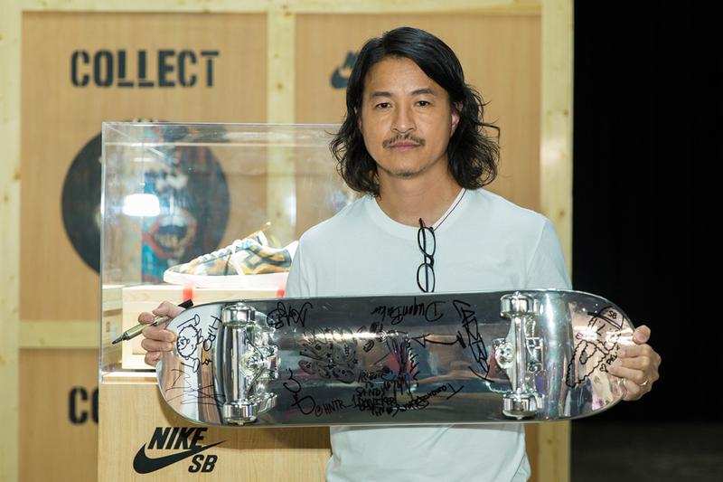 Michael Lau Nike SB Blazer Low Salvator Michael Tribute Sandy Bodecker Sneaker Launch Remember the Silver Man Shanghai