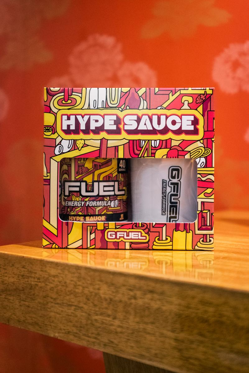 Mike Perry x G FUEL Debut HYPE SAUCE Flavor | HYPEBEAST