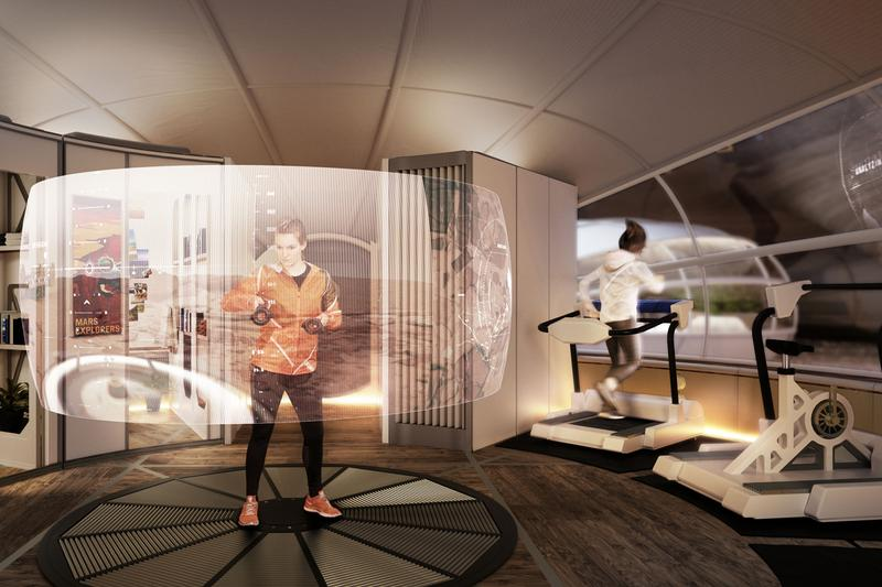 design museum moving to mars exhibition hassell studio