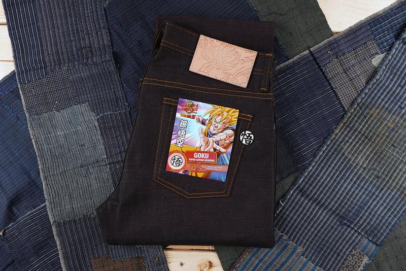'Dragon Ball Z' x Naked & Famous Denim Collaboration capsule super saiyan kakarot goku vegeta trunks cell september 11 october drop release date buy price jeans pants selvedge jacket