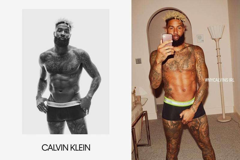Calvin Klein Fall 2019 #MyCalvins Underwear Campaign Naomi Campbell Bella Hadid Odell Beckham Jr. Jacob Elordi Diplo Beth Ditto