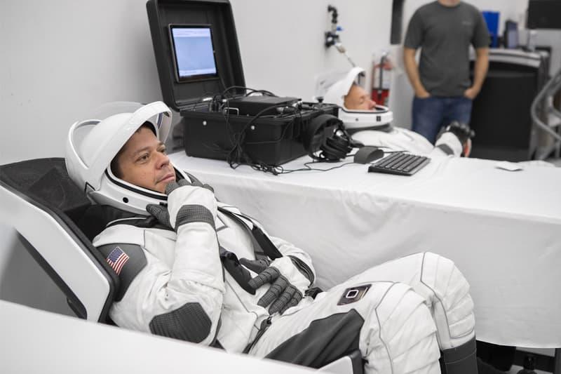 NASA SpaceX Crew Dragon Astronaut Suits Info space exploration commercial program elon musk mission 2020