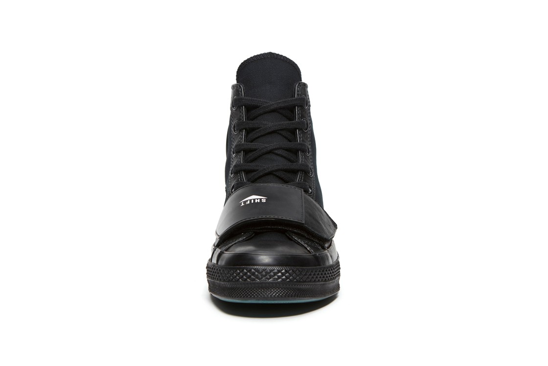 Takizawa Shinsuke Neighborhood Converse Motorcycle Blacked Out All Star Chuck 70 Jack Purcell Coach Jacket taylor collaboration collection apparel clothing fw19 fall winter 2019