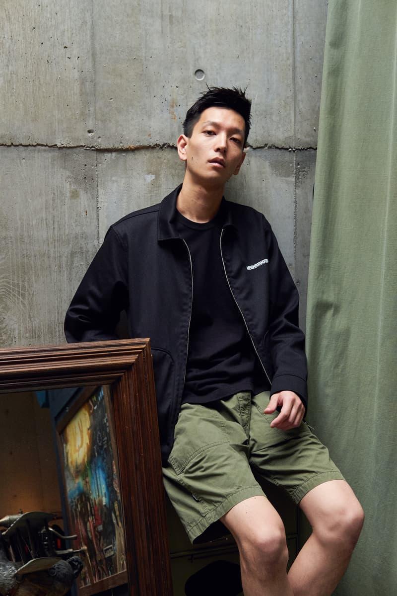 NEIGHBORHOOD Hong Kong & Beijing Exclusive Capsule lookbooks Shinsuke Takizawa