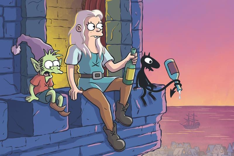 Netflix Original Matt Groening Disenchantment Part 2 Teaser Trailer The Simpsons