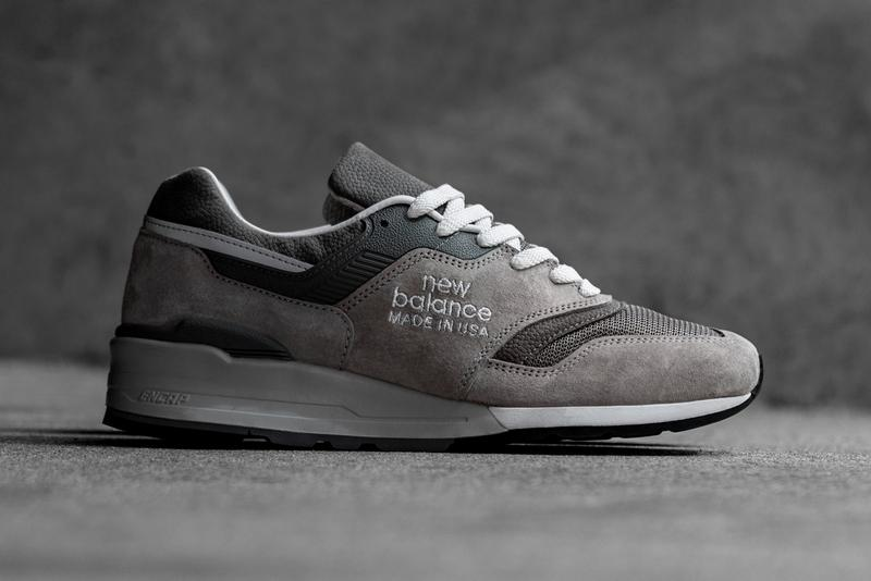 "New Balance M997GD1, M997SGR ""Grey Day"" Release hong kong date info drop colorway buy web store store made in usa model pig suede pebbled leather mesh"