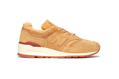 New Balance & Red Wing Shoes Craft Luxe M997 From Leather & Suede