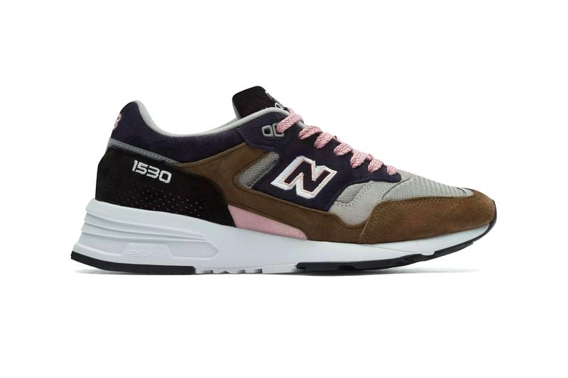 New Balance Made in UK 1530 Soft Haze Grey Khaki Navy suede nubuck pigskin leather handmade hand crafted revlite sole sneaker footwear