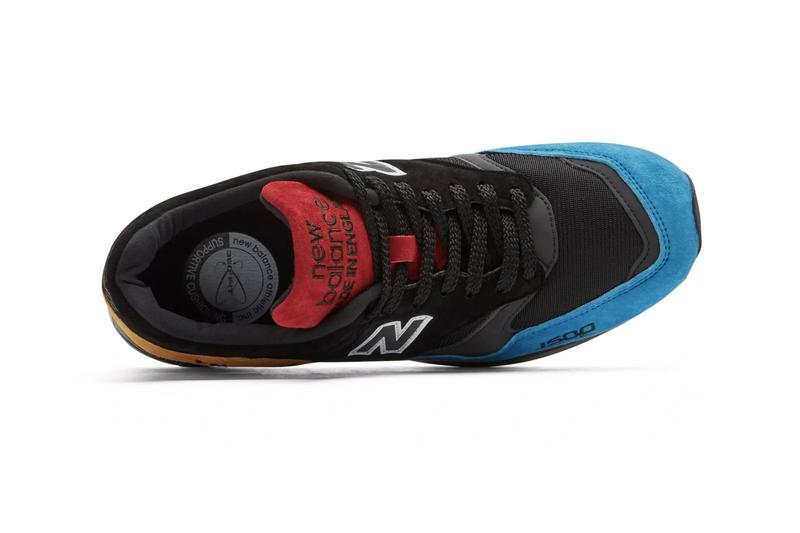 New Balance Made in UK Urban Peak Pack 1500 577 Sneaker Release Information Five Point Flying Functional Runners Cordura Mesh Leather Pigskin Suede ENCAP 3M Black Blue Yellow Dark Olive Red