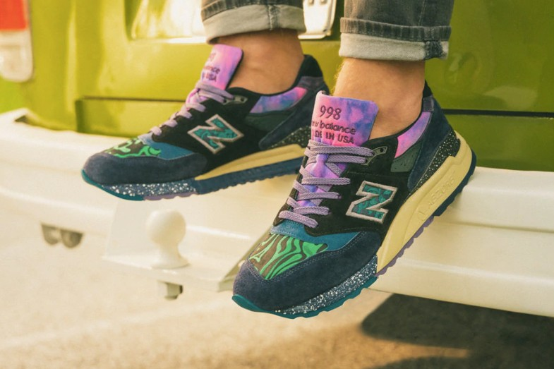 separation shoes 0c07c 89a33 New Balance Made in USA ML998V1 'Blue with Green' Release ...